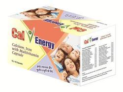 Cal V Energy Multivitamin Capsules