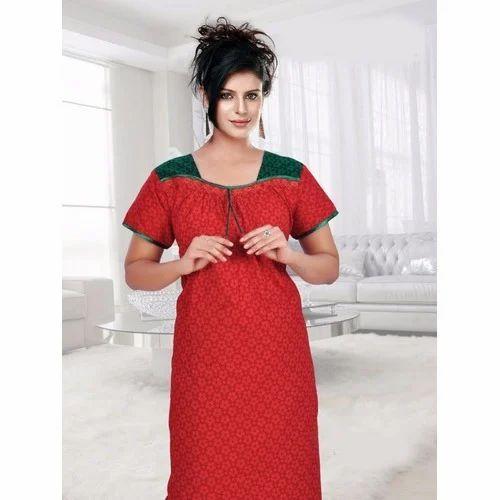 4270a790e1 Alpine Fabric Nighty at Rs 400 /piece(s) | Ladies Night Dress | ID ...