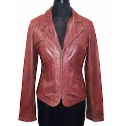 Lamb Waxy Leather Jacket