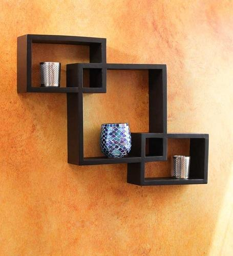 wall home decor modern mounted flower hanging item pot box shelf holder iron storage