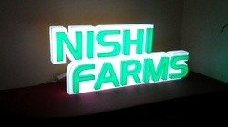 LED Acrylic Glow Sign Board