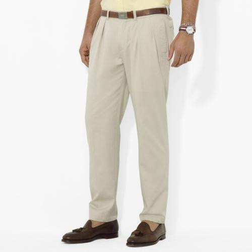 hot-selling authentic first look half price Pleated Cotton Chinos