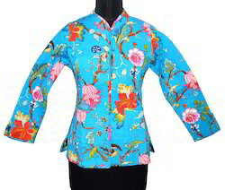 Full Sleeve Cotton Women Jackets, Size: S M L XL XXL