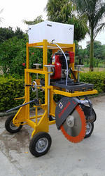 Road Kerb Cutting Machine