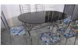 Steel Dining Table in Kolkata, West Bengal | Steel Ki Khana Khane ...