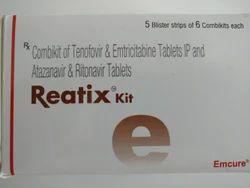 Reatix Kit - Combikit of Tenofovir & Emtricitabine Tab.