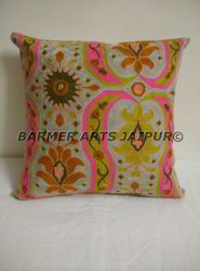 Cushion Cover Cotton Suzani Embroidery
