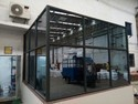Aluminum office Glass Partition