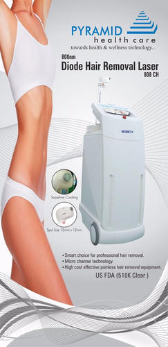 Hair Removal Laser - Diode Laser Hair Removal 808nm USFDA