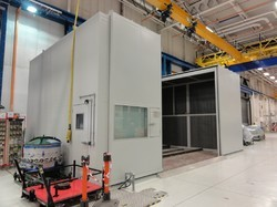 Blanking Line Press Acoustic Enclosures