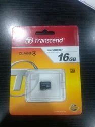Transcend 16 Gb Sd Memory Card