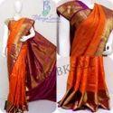 Kancheepuram Silk Real Zari Gold Kanchipuram Silk Saree
