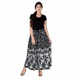 Rajasthani Rayon Formal Skirt