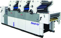 Three Color Non Woven Offset Printing Machine
