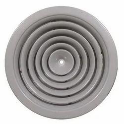 Powder Coated Air Diffuser, Swirl, Shape: Circular/Round