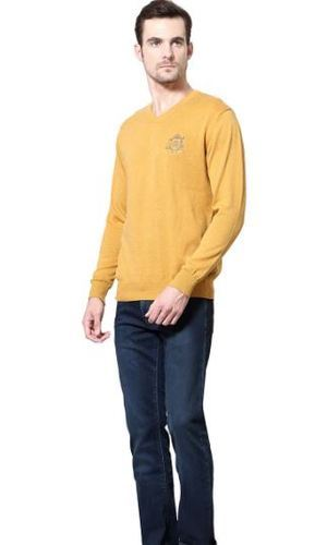 2e774ef53 Allen Solly Yellow Sweater