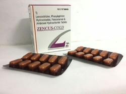 Paracetamol 325MG Phenylephrine 5 MG Ambroxol Levocitrizine