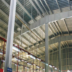 PEB Structure Shed Steel