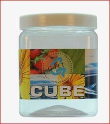 Cube Jar Plastic Cap 1000ml