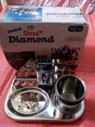 Shiva Diamond Stainless Steel Tumbler