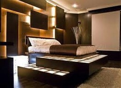 Wooded Bed