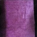 Plain Purple Chenille Fabric