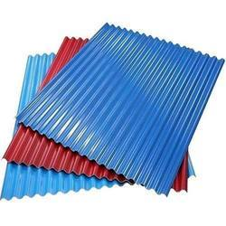 PE Color Coated Profile Sheets, Width: 600-1250 mm