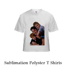 Sublimation Polyster T - Shirts