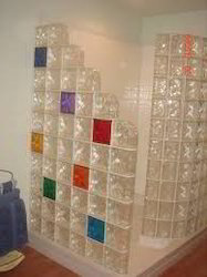 Glass Block Shower Cubicles