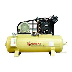 1 Hp - 30 Hp Gem Two Stage Reciprocating Air Compressor, 10 Ts