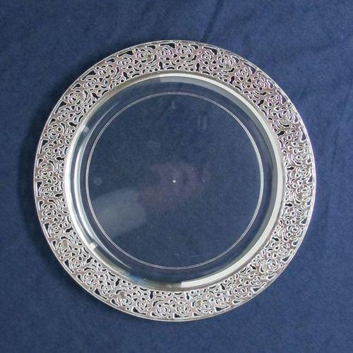 Fancy Plastic Plate पलसटक पलट Diamond