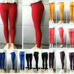 Straight Fit Pimienta Plain Leggings, Size:  XXL and XXXL