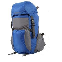 Bleu Light weight Foldable Rucksack Bag - Royal Blue & Grey
