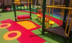 Outdoor Rubber Flooring Play Area