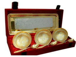 Silver Plated 7 Pcs. Bowl Set
