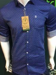 Cotton/Linen Mens Shirts