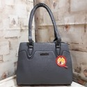 Gray Ladies Shoulder Bag