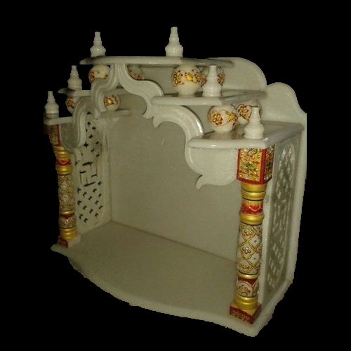 Gold Stand Marble Temple