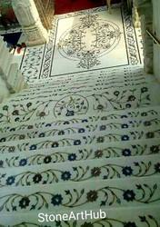 Marble Inlay for Flooring