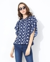 3/4 Sleeve Printed Relaxed Fit Women Tops, Size: Xs To 5xl