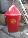 Impact Red Dustbin 80 ltrs