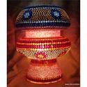 Glass Lamp Mosaic Work