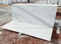 Morchana White Marble Stone, 18 And 20 Mm