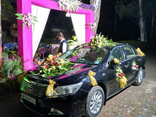 Theme stage decoration car decoration service provider from indore car decoration junglespirit Image collections