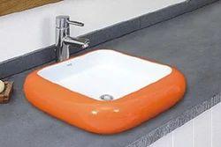 Color Table Top Wash Basin