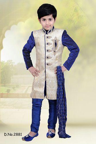 cb8ee8291 Boys Sherwani Set at Rs 1195 /piece   Kids Sherwani   ID: 11513214488