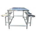 Stainless Steel 6 Seater Canteen Table