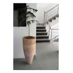 Rainbow Stone Planter/Urn