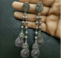Brass Afghani Earring