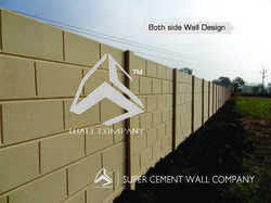 Both Face Brick Finish Walls